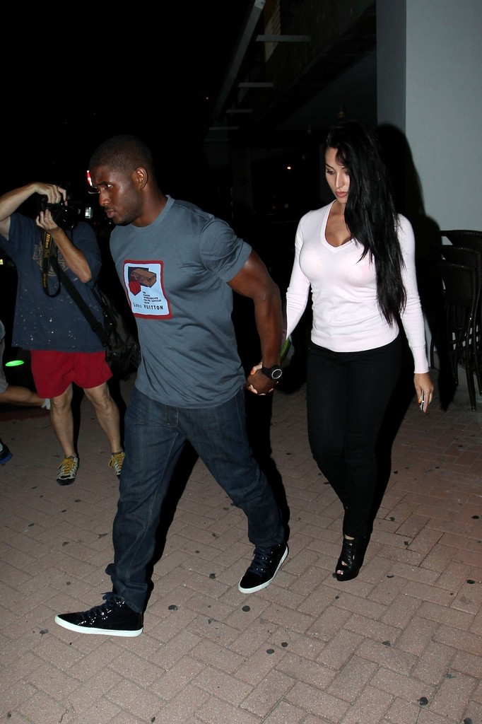 Reggie Bush And Kim Kardashian Beach Reggie Bush Pho...