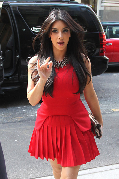 "Kim Kardashian Tuesday, August 30 2011. Kim Kardashian films scenes for her show ""Kim and Kourtney Take New York"". The Kardashian sisters are seen shopping at an organic market for groceries before they head home."