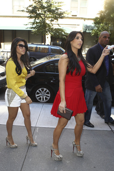 "Kim Kardashian Reality stars Kim and Kourtney Kardashian shop at an organic market while taping their show ""Kim and Kourtney Take New York"". The lovely sisters leave the market with big bags of food as they pose for photographers. It is reported that the Kardashian sisters, along with mother Kris Jenner, are scheduled to open up a boutique at the Mirage Hotel and Casino in Las Vegas."