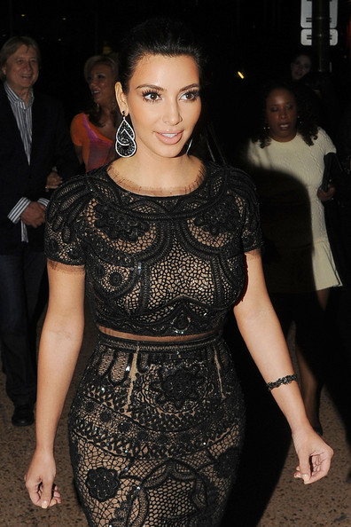 Kim Kardashian - Tara Reid at the Sean Combs Cannes Film Festival Yacht party in Cannes, France