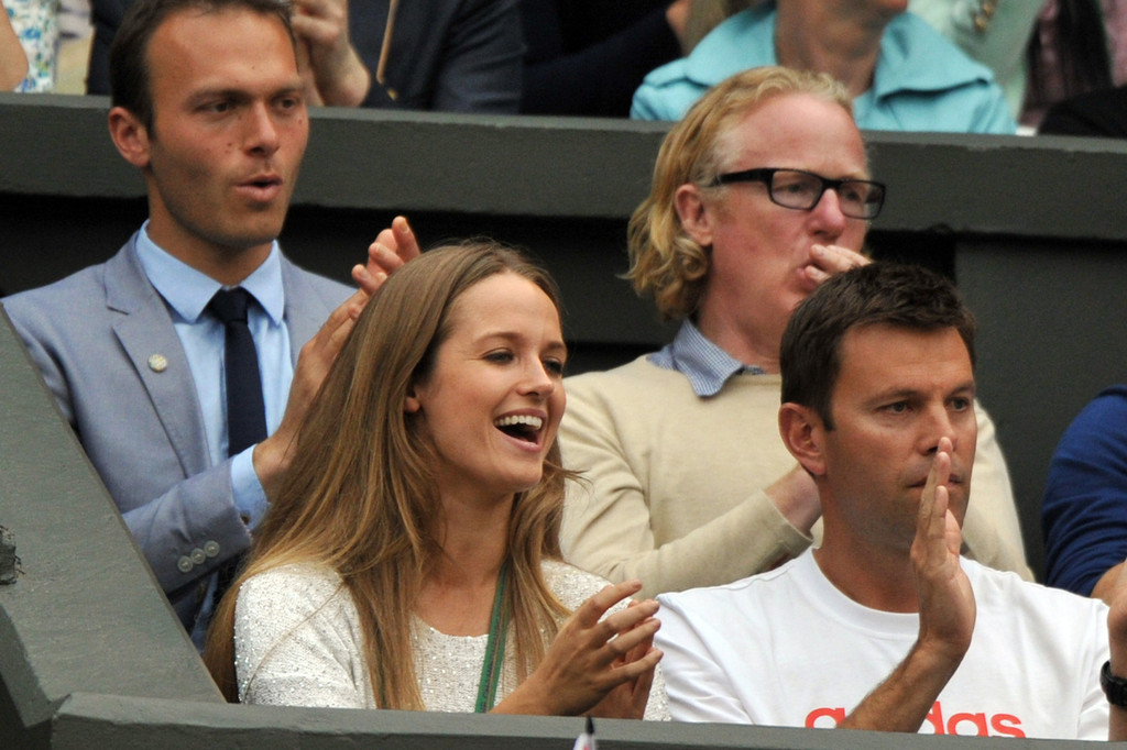 Kim+Sears+Andy+Murray+v+Tommy+Robredo+Ah