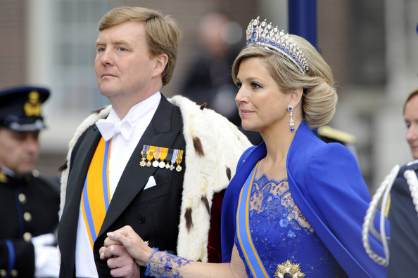 King Willem-Alexander King Willem-Alexander and Queen Maxima attend the inauguration of King Willem-Alexander and Queen Maxima at Nieuwe Kerk in Amsterdam.
