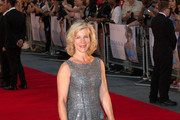 Juliet Stevenson attends the World Premiere of 'Diana' at Odeon Leicester Square in London.