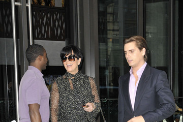 Kris Jenner Scott Disick Kris Jenner Leaves the 'Today' Show