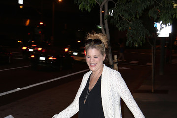 Kristen Johnston Kristen Johnston at BOA Steakhouse in West Hollywood