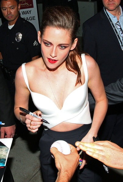 Kristen Stewart - Kristen Stewart at the Premiere of 'On the Road'