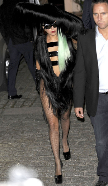 Lady Gaga - Lady Gaga Wears Long Hair