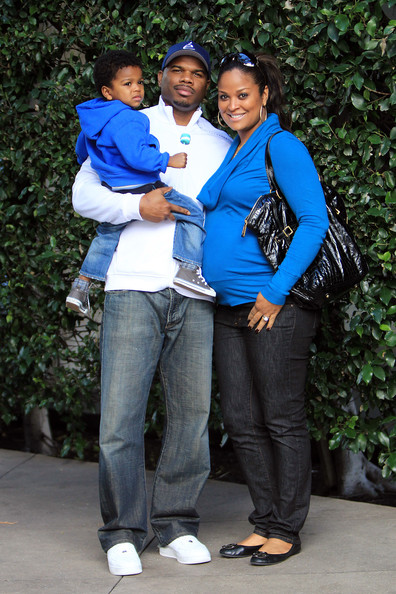 Laila Ali Laila Ali with husband Curtis Conway and their son Curtis    Laila Ali Son