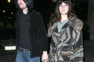 Lana Del Rey Barrie-James O'Neill Lana Del Rey Out With Her Boyfriend