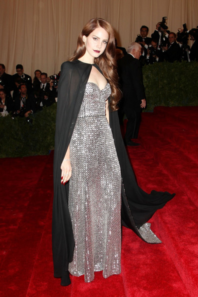 Lana Del Rey - Celebs on the Red Carpet at the Met Gala in NYC 2