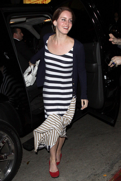 Lana Del Rey  arrives at Chateau Marmont