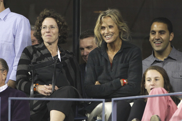 Lauren Hutton Lauren Hutton watching the US Open men's semifinals at the Arthur Ashe Stadium in New York.