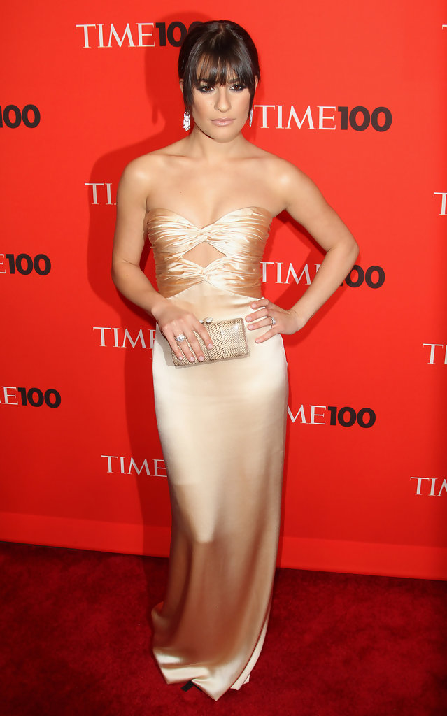 Lea Michele - Celebrities at the Time 100 Gala in New York