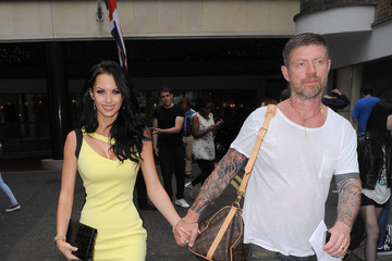 Lee Stafford Jessica-Jane Clement Goes Out with Lee Stafford