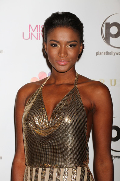 Leila Lopes - Diego Boneta attends the Miss Universe 2012 pageant at the Planet Hollywood Resort and Casino in Las Vegas