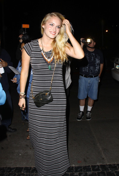 Leven Rambin - Celebs at Chateau Marmont in West Hollywood