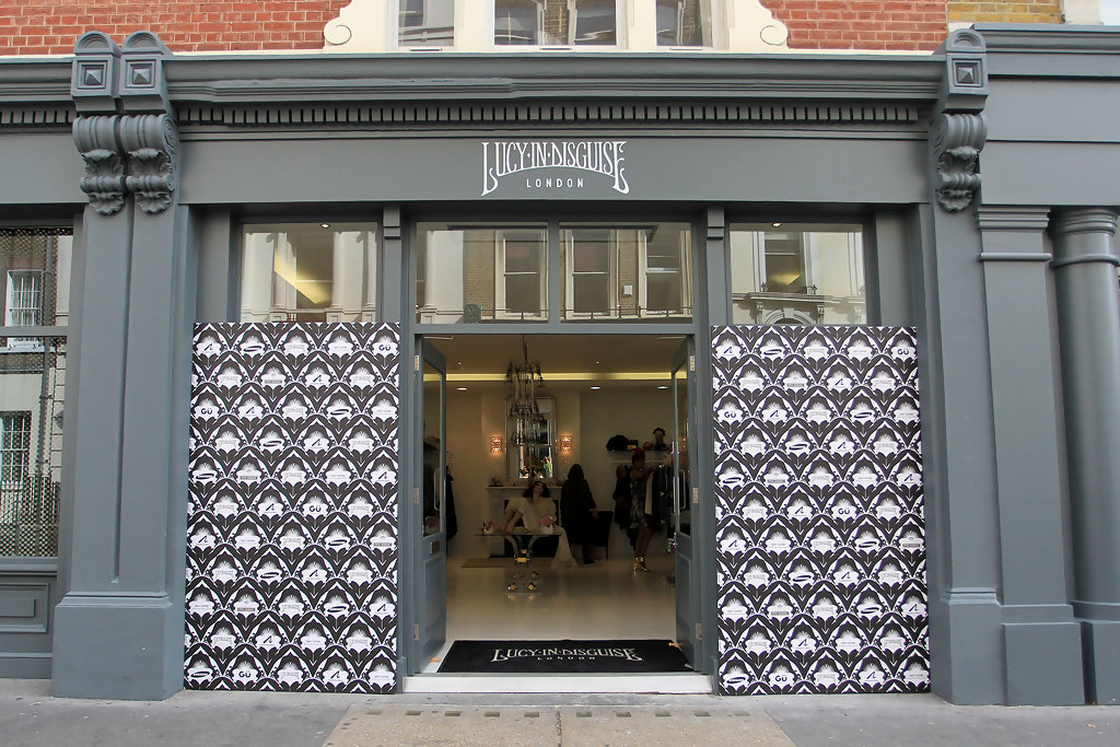 Lily Allen New Vintage Boutique in London