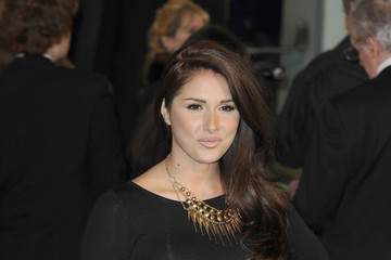 Lucy Pinder Nick Cave attends the premiere of 'The Hobbit An Unexpected Journey'  in London