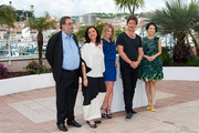 Enrique Gonzalez Macho, Head of Festival do Rio Ilda Santiago, Ludivine Sagnier, Director Thomas Vinterberg and Zhang Ziyi attend the photo call for the Jury for the 'Un Certain Regard' selection during The 66th Annual Cannes Film Festival at Palais des Festivals in Cannes.