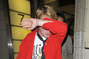 """Macaulay Culkin and Kieran Culkin at the afterparty for """"Scott Pilgrim versus the World"""" at Circus Bar in Covent Garden, London."""