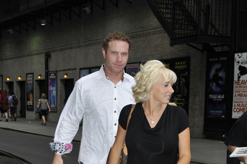 Katie Hamilton Josh Hamilton and his wife Katie arrive at 'The Late Show with David Letterman'