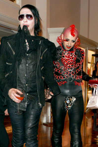 Marilyn Manson Photos - Arrivals at the Vivienne Westwood Store ...