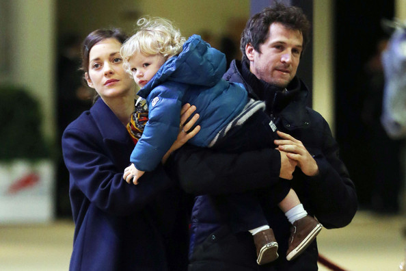Family photo of the actress, married to Guillaume Canet,  famous for Rust and Bone & Inception.