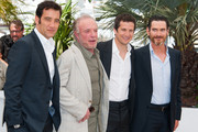 Clive Owen, James Caan, Guillaume Canet and Billy Crudup attend the photocall for 'Blood Ties' during the 66th Annual Cannes Film Festival at the Palais des Festivals in Cannes.