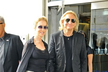 Marjorie Bach Joe Walsh Out And About In Nyc