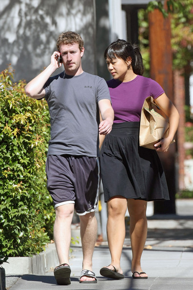 Mark Zuckerberg and girlfriend Priscilla Chan took a restraining order
