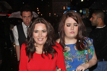 Debbie Rush Celebs at the British Soap Awards After Party