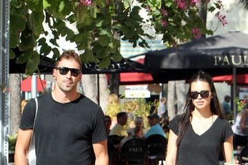 Marko Jaric Adriana Lima and Marko Jaric in Miami