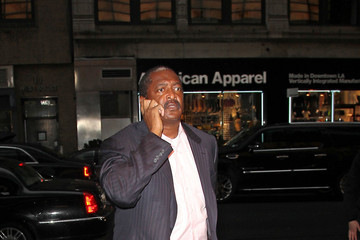 Matthew Knowles Matthew Knowles in NYC