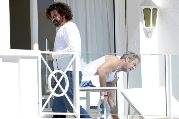 mel gibson cannes shirtless. Mel Gibson at Cannes