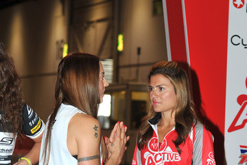 Melanie Chisolm Stars at the Virgin Active Health Clubs London Triathlon