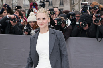 Melanie Laurent Arrivals at the Christian Dior Fall-Winter 2013 Ready-to-Wear Show in Paris