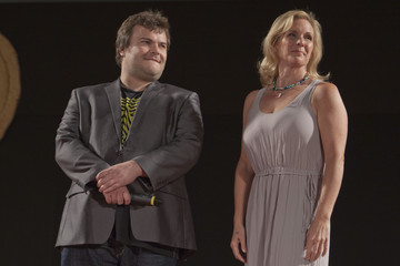 Melissa Cobb Jack Black at the Taormina Film Festival