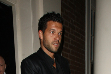 Michael Ballack Celebs Leave the Summertime Ball in London