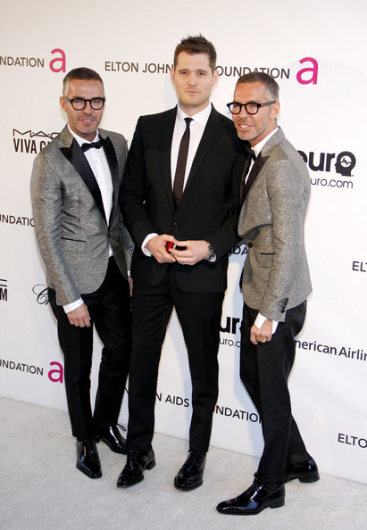Celebs at the 21st Annual Elton John AIDS Foundation Party