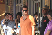 "Geoff Stults films scenes for ""The Locator"" in South Beach. The show is a spinoff of the hit Fox show ""Bones""."