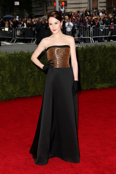 Michelle Dockery - Celebs on the Red Carpet at the Met Gala in NYC