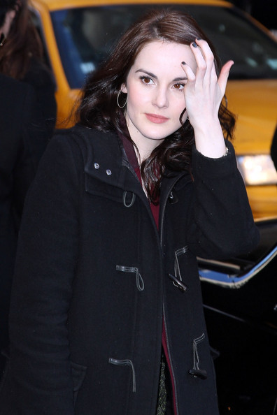 Michelle Dockery Pictures Michelle Dockery Visits