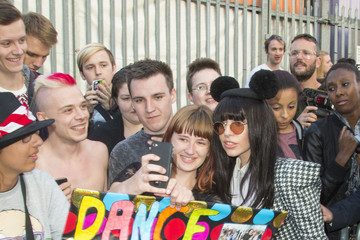 Mickey Mouse Lady Gaga Greets Fans in London