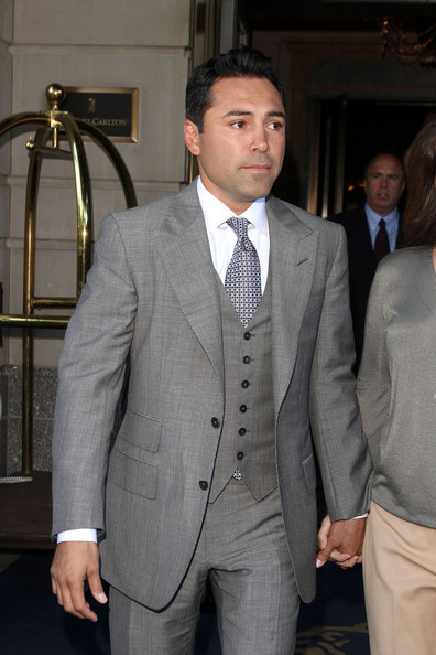 oscar de la hoya wife. Oscar De La Hoya and Millie