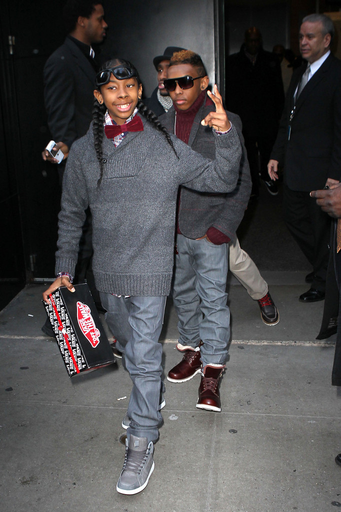 Ray Ray Photos Photos Mindless Behavior On Good Morning America