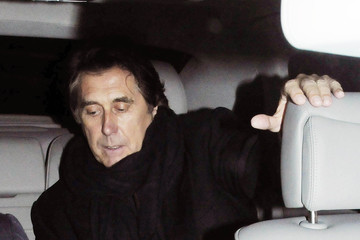 Bryan Ferry Amanda Sheppard Kate Moss Leaves the Bryan Ferry 'Olympia' Album Launch in London