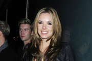 """""""Westlife """" singer Kian Egan and his wife actress Jodi Albert makes their way through the crowds as they leave the Whisky Mist nightclub in the early hours of the morning."""