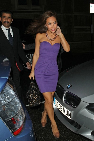 Myleene Klass at the Royal Albert Hall