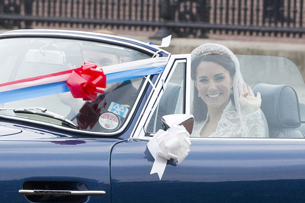 Kate Middleton In The Duke And Duchess Of Cambridge Drive
