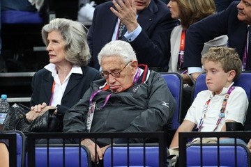 Nancy Kissinger Celebs at the Closing Ceremony